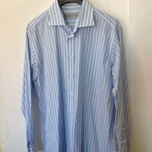 """Other - ETRO Made in Italy  Mens Cotton Shirt*** Neck 18"""""""